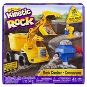 Kinetic Sand Набор с серым гравием и самосвалом 6033177 rock crushin set