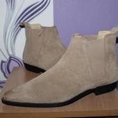 Кожаные ботинки челси asos разм 39-40 индия