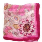 Распродажа - Платок 26х26 см. от Zaya натуральный китайский шелк на сумку шейный