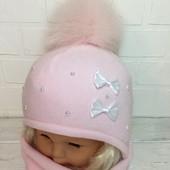 Комплект шапка шарф Ala-baby