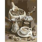 """Картина по номерам """"Утренний кофе"""" 40х50 см"""