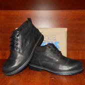 Botus зимние мужские кожаные ботинки