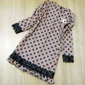 Детское нарядное платье р.128-152 стиль Шанель