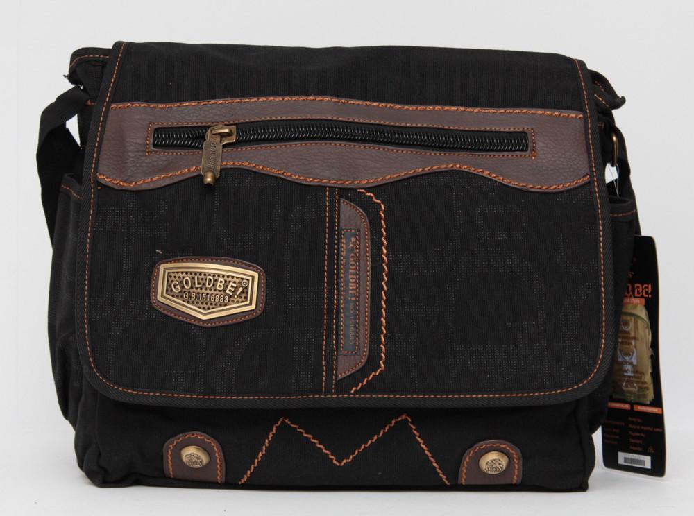 21432da44e35 Чоловіча сумка через плече gold be / goldbe / мужская сумка через плечо  фото №2