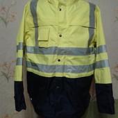 Сигнальная куртка/спецодежда. Большой размер (54-56)