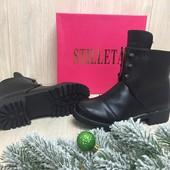 Женские зимние ботинки под Hermes