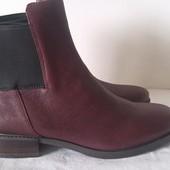 Кожаные женские ботинки Clarks 35-42 р.