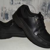 кожаные туфли 24 см