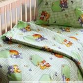 Комплект детского постельного белья, бязь белорусская