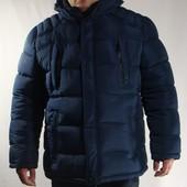 Зимняя куртка больших размеров, для крупных мужчин, со сьемным капюшоном