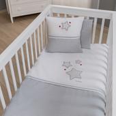 Набор постельного белья Baby Star (3 предмета) Funna Baby 5703 Турция серо-белый 12126046