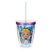 Disney Стакан Алиса с трубочкой alice nel paese delle meraviglie