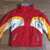 всесезонная термо-куртка, р.122-128, на 7-8 лет