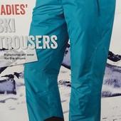 Женские лыжные штаны бирюзового цвета размер 12 6-53 Ю