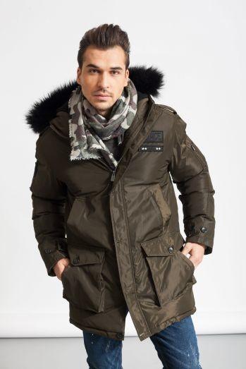 c8f8d19d5 Куртка модная зима glo-story - милитари, черная, цена 1570 грн ...