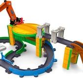 Chuggington железная дорога Грузовая станция Коко stacktrack drop load dash with motorized koko LC54