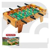 Футбол деревян. ZC1016A   в кор. 68*36,5*23см