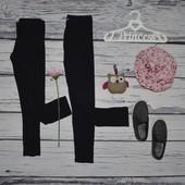 6 - 7 лет 122 см Яркие модные фирменные легинсы лосины девочке черные разные