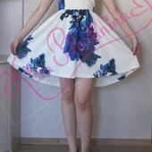 Милое ассиметричное платьице