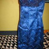 Платье нарядное,на подкладке,р.46-48. Handmade (Хендмейд).Нюанс.