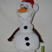 Фирменный большой новогодний плюшевый снеговик Олаф Дисней Disney