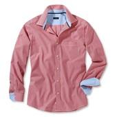 Стильная мужская рубашка , тсм Tchibo германия размер Л ворот 41-42