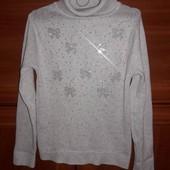 Бесподобный теплый свитер для девочки