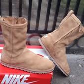 Кожаные сапоги ботинки угги UGG 39 р. Оригинал