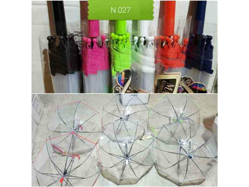 Зонт зонтик детский купольный прозрачный для мальчика и девочки   3-7  л фото №1