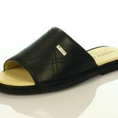 Кожаные тапочки мужские Inblu : TN-1L. 2 цвета
