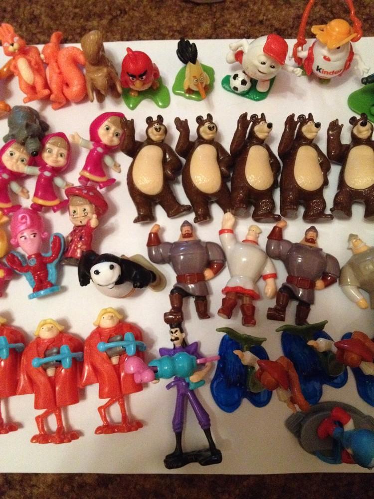 картинки киндеры сюрпризы игрушки картинки сколько