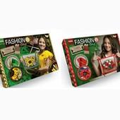 Набор для творчества Fashion Bag Вышивка лентами и бисером danko toys fbg-01