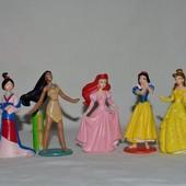 Разные фирменные фигурки Принцессы Дисней Disney