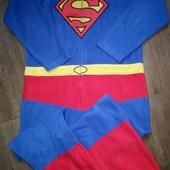Слип,пижама флис Супермен ,размер L в идеале!