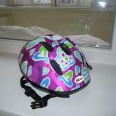 Велошлем детский защитный шлем скейтборда роликов велосипедный 48-54см