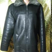 Мужская зимняя куртка на меху, размер 48