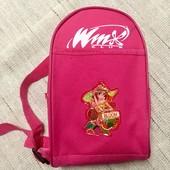 Рюкзак маленький Винкс Winx. 22 на 14 см. Состояние отличное!