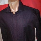 Стильная нарядная рубашка бренд Autograph л-хл .