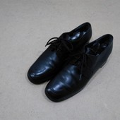 Туфли оксфорды Paul Green кожаные черные