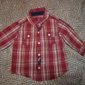 рубашка мальчику Carter's США 18 мес рост 86 см отл сост