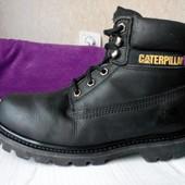 Ботинки Caterpillar 38 шкіра черевики timberland