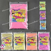 Кинетический песок, упаковки по 500 грамм, разные цвета