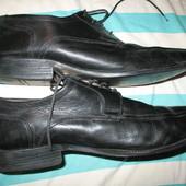 Туфли мужские кожаные,р.41(стелька-27,5см).Нюанс.