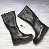 Сапоги кожаные 38 р