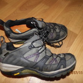 трекинговые кожаные кроссовки 39 р UK 6 Merrell Gore-Tex
