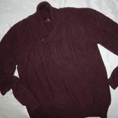 Fly Свитер мужской шерстяной теплый модный качественный р XL