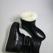 Новинка! Ботинки/угги деми /зима Кожа натуральная код: аа