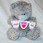 Игрушка мягкая Мишка Teddy 15 см Happy Birthday