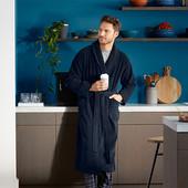 Шикарный велюровый халат унисекс Tchibo XXL