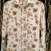Цветастая котоновая рубашка S S.Oliver